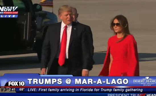 Video: El desaire de Donald Trump con su esposa Melania