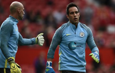 Manchester City confirma que Willy Caballero no seguirá en el equipo