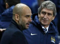 """Pep"" Guardiola disputa record del ""Ingeniero"" Pellegrini en el City"